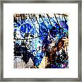 Interstate 10- Exit 257a- St Marys Rd / 6th St Underpass- Rectangle Remix Framed Print