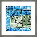 Interstate 10- Exit 258- Broadway Blvd / Congress St Underpass- Rectangle Remix Framed Print