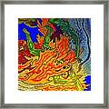Into The Flames Of Hell Framed Print