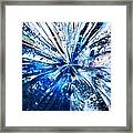 Into The Icy Blue Framed Print