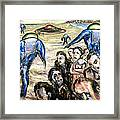 Invasion Framed Print by Arthur Robins