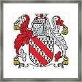 Ireton Coat Of Arms Irish Framed Print