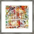 Islamic Painting 005 Framed Print by Catf