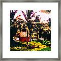 Island Paradise Framed Print by CHAZ Daugherty