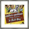It Aint Hay, Top L-r Patsy Oconnor, Bud Framed Print
