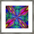 It's A Rainbow World Framed Print