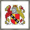 Ivers Coat Of Arms II Irish Framed Print