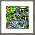 Jackson Falls At Mile 405 Natchez Trace Parkway-tennessee Framed Print