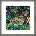 Jaguar Meadow Framed Print