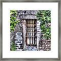 Jail Room Window Framed Print
