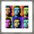James Dean 006 Framed Print