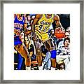 James Worthy Framed Print
