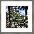 Japanese Garden Of Water And Fragrance 2 Framed Print
