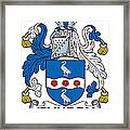 Jenyson Coat Of Arms Irish Framed Print