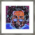 Jerry Garcia-it's A Me Thing Framed Print by Bill Manson