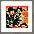 Jesse James At Bay, Us Poster, Roy Framed Print