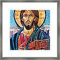 Jesus Christ The Pantocrator I Framed Print
