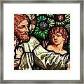 Jesus With Children Framed Print