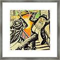 Jewish Holiday  Framed Print by Mimi Eskenazi