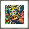 Jimi Hendrix Rainbow Bridge Framed Print