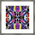 Jimi Kaleidoscope I Framed Print
