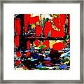 Joan Miro Quote   I Try To Apply Colors Like Words That Shape Poems Like Notes That Shape Music Framed Print