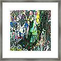 Joe Meets Mary In The Woods Framed Print