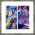 Joel And Andy Framed Print by Joshua Morton