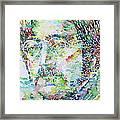 John Lennon Portrait.2 Framed Print