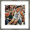 John Stockton Framed Print