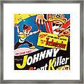 Johnny The Giant Killer, Aka Jeannot Framed Print