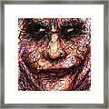 Joker - Face II Framed Print