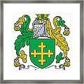 Jones Coat Of Arms Kildare Ireland  Framed Print
