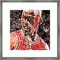 Jordan The Best Framed Print by Victor Arriaga