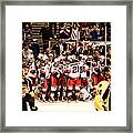 Joy Of Victory Agony Of Defeat Framed Print