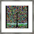 Joyce Kilmer's Tree Framed Print