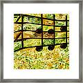 Joyful - Lemon Lime Framed Print