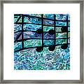 Joyful - Ocean Framed Print