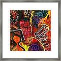 Joyfully Living Life Anew Framed Print