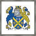 Joynt Coat Of Arms Irish Framed Print