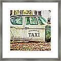 Juarez Taxi Framed Print