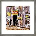 Juke Joint Framed Print