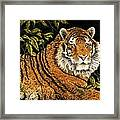 Jungle Monarch Framed Print