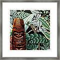 Jungle O Tiki Framed Print by Anthony Morris
