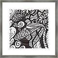 Just A Tangle Framed Print