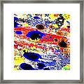 Just Abstract Framed Print