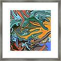 Just Abstract Vii Framed Print