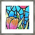 Just Visiting Framed Print