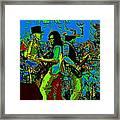 Jwinter #16 In Cosmicolors Framed Print