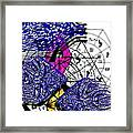 Kabbalah And Fish Framed Print